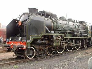 costin tuchila nostalgie locomotiva pacific SNCF