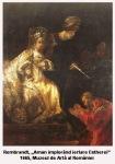 rembrandt aman implorand iertare estherei 1665 muzeul de arta al romaniei jean racine tragedie subiect biblic mitologie inpictura