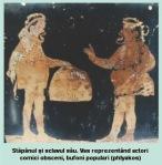 bufon popular phlyakos actor obscen stapan si sclav vas grecescceramica