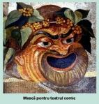 masca comica antica originea comedieigrecesti