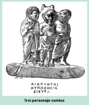 trei personaje comice teatru grec istoria dramaturgieiaristofan