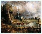 j constable catedrala dfin salisbury vazuta din lunca1831
