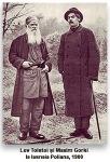 lev tolstoi maxim gorki iasnaia poliana revolutie1905