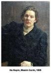 maxim gorki repin portret 1899 moravuri rusia revolutia dinoctombrie