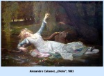 Alexandre Cabanel Ofelia1883