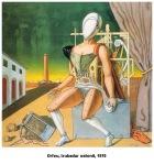 De Chirico – Orfeo trovatore stanco1970