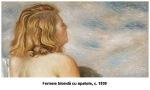 giorgio_de_chirico femeie blonda cu spatele c1930