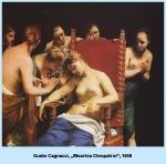 Guido Cagnacci Moartea Cleopatrei1658