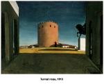 turnul rosu g dechirico