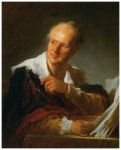 Denis Diderot portret fantezist1769