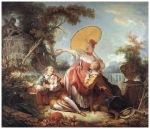 fragonard concursul muzical c1754