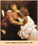Frederic Leighton Orfeo ed Euridice1864