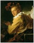 J H Fragonard Monsieur de la Breteche portret fantezist1769