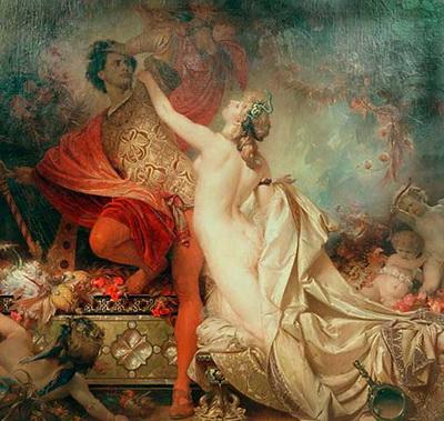 Otto Knille Tannhäuser si Venus 1873
