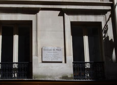 placa-memoriala-edouard-de-max-rue-caumartin.